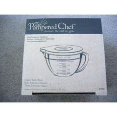 The Pampered Chef Classic Batter Bowl-this is my favorite product and I use it all the time.