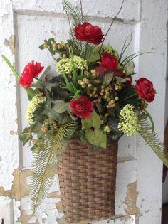Spring wreath for door Summer wreath for door by FlowerPowerOhio, $69.99