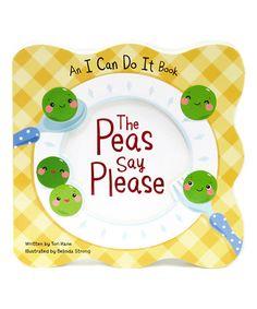 Look at this #zulilyfind! The Peas Say Please Board Book #zulilyfinds