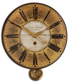 Louis Leniel Cream & Gold Wall Clock