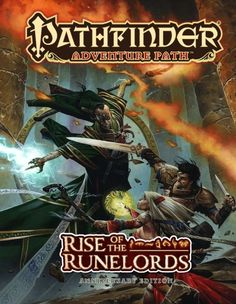 Pathfinder Adventure Path: Rise of the Runelords Anniversary Edition (PFRPG) RPG Pathfinder Card Game, Pathfinder Adventure Card Game, Pathfinder Rpg, Lotr, Sci Fi Books, Pen And Paper, Ebook Pdf, Book Series, Reading Online