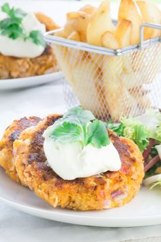 salmon and sweet potato fishcakes