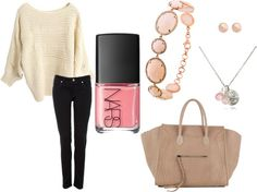Subtle Pink, created by aalampi on Polyvore
