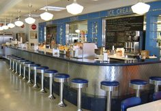 The Pickwick Soda Fountain, 3219 Augusta St, Greenville, SC was closed for the A little annoyed because I wanted to go there! Fifties Diner, Retro Diner, Hd Diner, Modern Fountain, Best Soda, Greenville South Carolina, American Diner, Ice Cream Parlor, Cream Soda