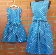 s Clothing Children's Clothing, Diy Abschnitt, Source by outfits mother daughter mommy and me Mom Daughter Matching Dresses, Mommy And Me Dresses, Mommy And Me Outfits, Kids Outfits, Girls Dresses, Fashion Kids, Girl Fashion, Mother Daughter Fashion, Dress Anak