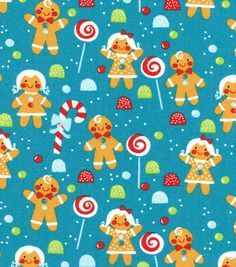 gingerbread kids- joanns fabrics 2014