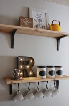 <<But First, Coffee.>> A Simple DIY Coffee Bar! graceunmeasured.com