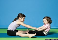 yoga poses that kids will love!