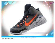 sale retailer 86e3f 21e77 scarpe da basket migliori Uomo-Donna 653640-030 Gray  Arancione Nike  Hyperdunk 2014