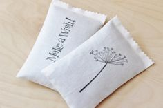 Lavender Sachets Dandelion / Make a Wish Moth by Gardenmis on Etsy