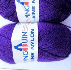 KNITTING WOOL////Pingouin Laine Nylon//*(2x50gr.Balls)* for Knitting Socks//*2 x 50grams Makes 1 pair Adult sock.//Was 16.00) Now!