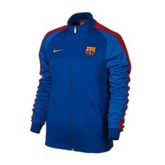 NWT 2016-2017 Barcelona Nike Womens N98 Jacket (Royal) 810337 414 SZ S Clothing, Shoes & Accessories:Women's Clothing:Athletic Apparel #nike #jordan #shoes houseofnike.com $90.00