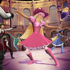 Barbie and the Three Musketeers Wallpaper 21,
