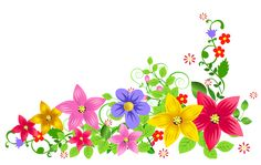 Transparent Floral Decoration PNG Picture