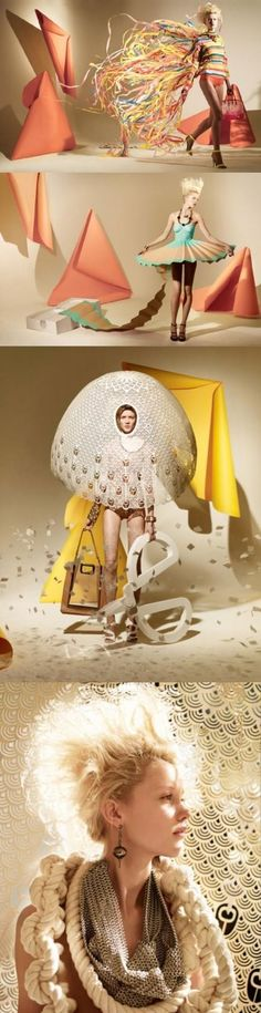 Designed by Matthew Brodie.paper dresses