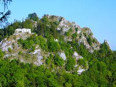 Vršatec se zříceninou hradu | Biele Karpaty