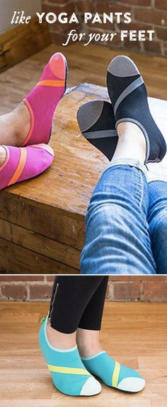 FitKicks are like your favorite yoga pants (because you can wear them anywhere). But for your feet.