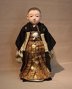 BEAUTIFUL JAPANESE ICHIMATSU NINGYO BOY DOLL (item #988581)