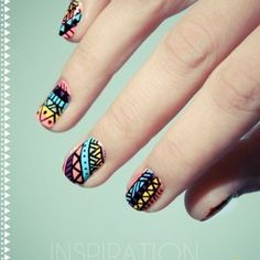 Tribal - nails