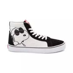 f3d16cd39c Vans Sk8 Hi Peanuts Joe Cool Skate Shoe