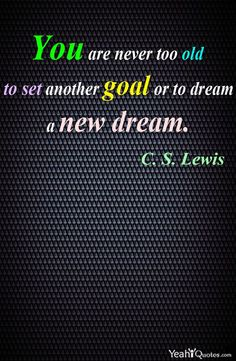 cs lewis quotes goals Pin by Yeah Quotes on Inspirational Quotes Pinterest