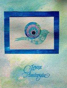"""""""Oiseau joyeu """" Dan 2014"""