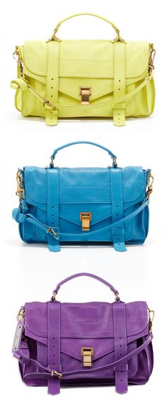 THE VIVIDS - Punctuate your look with Proenza Schouler PS1. 212 872 2519
