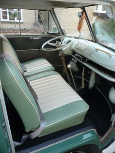 65 split screen camper cab seats