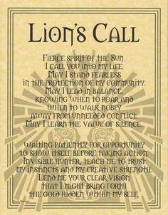 Lion's Call