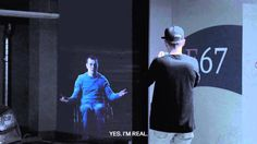 In Moskou waarschuwen hologrammen foutparkeerders