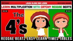 4 Times Table Song (Reggae Beatz) Learn to Fun & Catchy Songs! Singing Lessons, Singing Tips, Singing Quotes, 4 Times Table, Vocal Exercises, Singing Exercises, Radio Wave, Piece Of Music, Music Covers