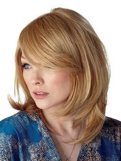 Soft Medium Layered Hairstyles - 2