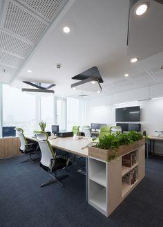 Indoor Garden Office and Office Plants Design Ideas For Summer – Googodecor – Modern Corporate Office Design