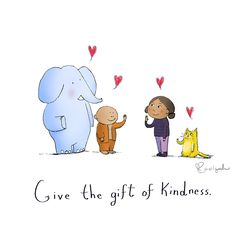 give the gift of kindness Buddha Doodles Tiny Buddha, Little Buddha, Buddha Thoughts, Happy Thoughts, Positive Thoughts, Positive Quotes, Cute Quotes, Funny Quotes, Buddah Doodles