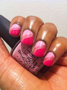 Today's Pink Wednesday post w/ OPI Pink Friday, DS Reserve, and Sally Hansen Fuschia Power