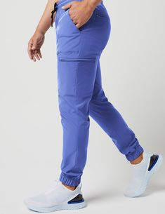 Jogger Pant in Ceil Blue - Medical Scrubs by Jaanuu scrubs Jogger Pant in Ceil Blue - Medical Scrubs Stylish Scrubs, Scrubs Outfit, Cute Scrubs Uniform, Mens Jogger Pants, Nursing Clothes, Cute Nursing Scrubs, Cute Medical Scrubs, Medical Uniforms, Scrub Pants