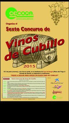 5 de Junio en Auditorio @cajaburgos de #ArandaDeDuero, Taller 'Pasos a seguir para hacer un buen #vino de cubillo'