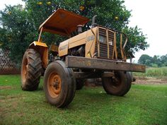 O trator é um tipo de máquina que substituiu o uso dos animais para a tração nas lavouras. É fruto do avanço tecnológico na agricultura, aumentando a produção e facilitando o trabalho, além de trazer conforto ao operador.
