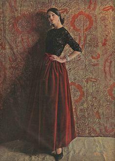 October Vogue 1960