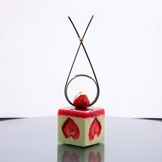 Cake Frasier Recipe from masterclass Guillaume Mobilleau. Strawberry, pistachio…