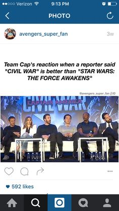Some looked so shocked that they were even compared to TFA! Do I agree? Maybeeeee... And I loved The Force Awakens!!!