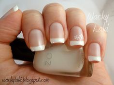 french manicure <3