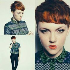 28.Pixie Cuts with Fringe