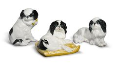 Buy online, view images and see past prices for A GROUP OF THREE MEISSEN FIGURES OF JAPANESE SPANIELS LATE 19TH / EARLY 20TH CENTURY |. Invaluable is the world's largest marketplace for art, antiques, and collectibles.