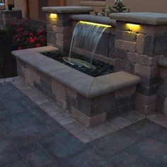 Illuminate your outdoor space with Color Changing Colorfalls and SOL Color Changing LED Lighting from Atlantic Water Gardens. With 48 different colors and 18 color changing patterns, your space will come alive with light! SOL Lighting also available in Warm White LEDs. Click to shop our full formal spillway line now.