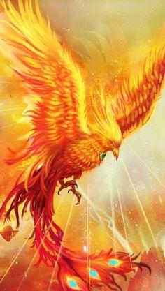 Mystical Animals, Mythical Creatures Art, Mythological Creatures, Fantasy Creatures, Angry Animals, Cute Wild Animals, Real Phoenix Bird, Eagle Background, Eagle Artwork