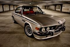 1973 BMW E9 3.0CSi turned '3.5CSi'