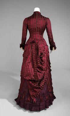 Wedding dress 1877