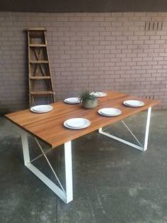 Industrial Outdoor Dining Table, Made to Order   Outdoor Dining Furniture   Gumtree Australia Melbourne City - Carlton North   1144353470