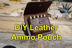 DIY+Leather+Ammo+Pouch+/+Carrier+-+YouTube